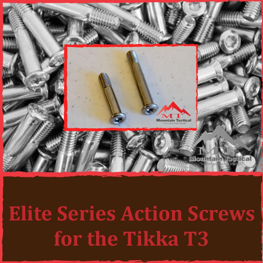 Tikka T3/T3x Elite Series Action Screws