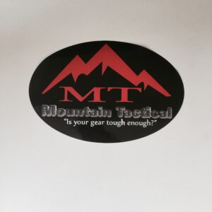 Mountain Tactical All Weather Sticker