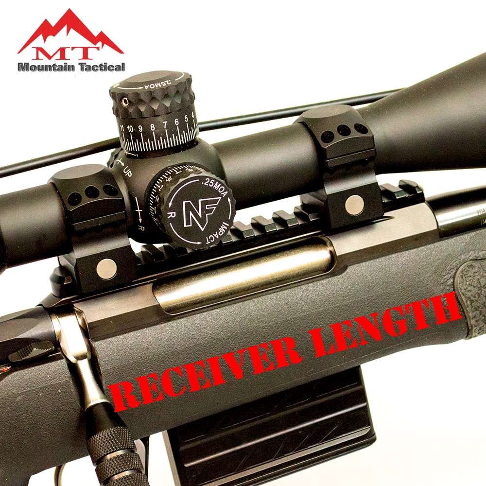 Tikka T3/T3x Gen2 Performance Series Picatinny Rail
